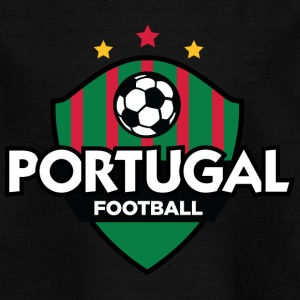 Portugal Fotball Emblem - T-skjorte for barn
