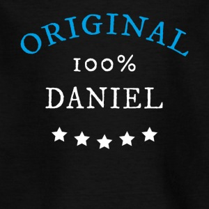 Original 100% Daniel, gave, navn - T-skjorte for barn