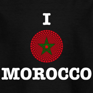 Morocco Morocco المغرب I LOVE MANDALA - Kids' T-Shirt