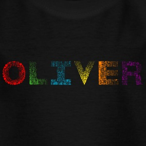 Font Fashion Oliver - T-shirt Enfant