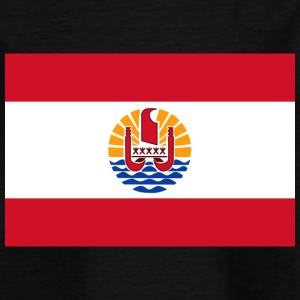 National Flag Of French Polynesia - Kids' T-Shirt