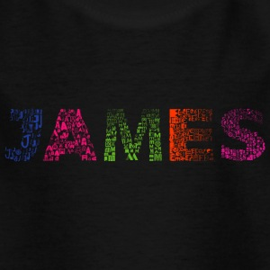 James Letter Name - Kinder T-Shirt