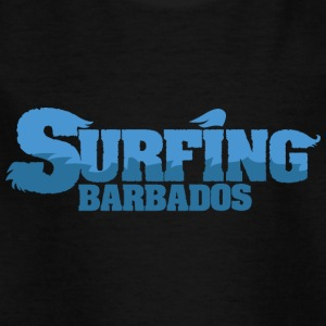 BARBADOS Surfing Country Water - Kids' T-Shirt