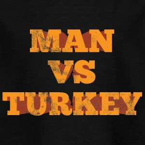 Thanksgiving / Thanksgiving: Man vs. Turquie - T-shirt Enfant