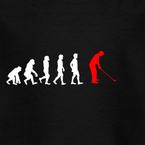 EVOLUTION golfsports golfer - Kids' T-Shirt