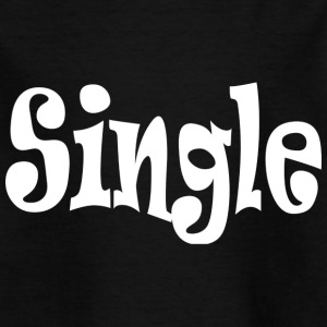 Single White - Kids' T-Shirt