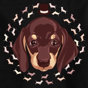 dachshund - Kids' T-Shirt