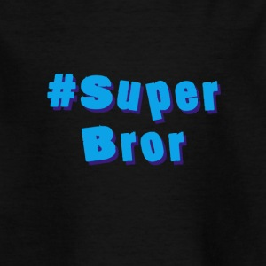superbror - T-skjorte for barn