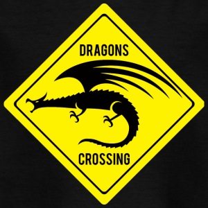 Fantasy / Drachen: Dragons Crossing - Kinder T-Shirt