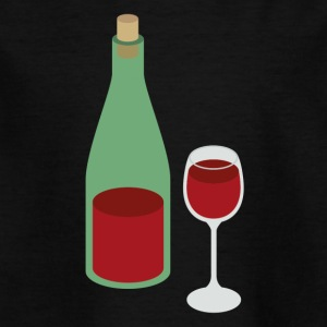 Rotwein - Kinder T-Shirt