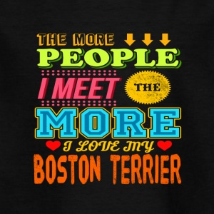 Boston Terrier - Kinder T-Shirt