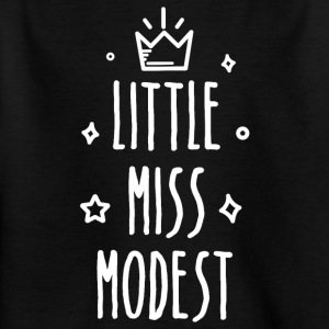 Little miss Modest - Kids' T-Shirt