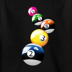 Pool-Spiel - Kinder T-Shirt