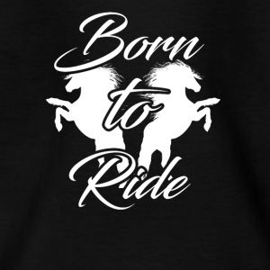 born to ride - Kids' T-Shirt