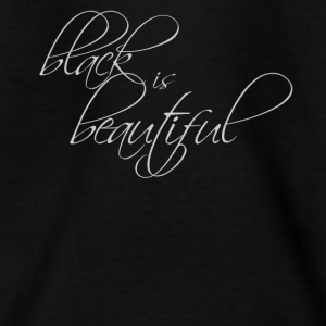 black is beautiful - T-skjorte for barn