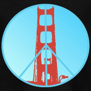 Golden Gate Peace - Kinder T-Shirt