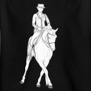 dressage - Kinder T-Shirt