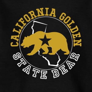 California Golden State Bjørn - Børne-T-shirt