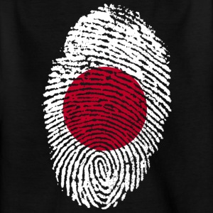 Fingerprint - Japan - Kinderen T-shirt