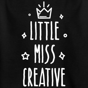 Little miss Creative - Kinderen T-shirt