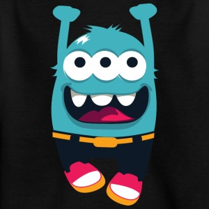 Monster Whirlwind - Monster Cool Collection - Kids' T-Shirt