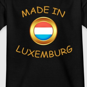 """MADE IN LUXEMBOURG"" - T-shirt Enfant"
