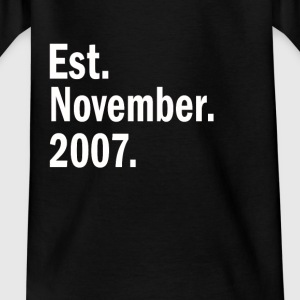Est November 2007 - Kids' T-Shirt