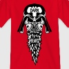 dark beard tete de mort barbe casque 230) - T-shirt Enfant