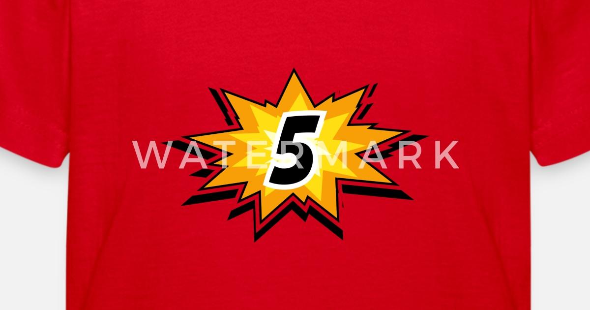 Verjaardag Kind 5 Jaar Kinderen T Shirt Spreadshirt