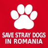 Save Stray Dogs In Romania - Kids' T-Shirt