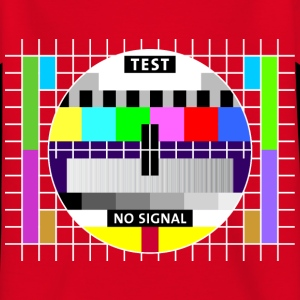 Test image display screen test card signal Big Bang