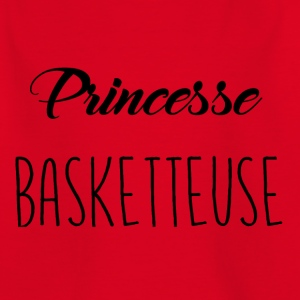 basket prinsessa - T-shirt barn