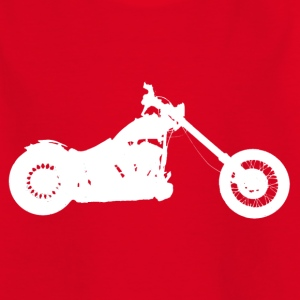 Hobo Softail chopper - Kids' T-Shirt