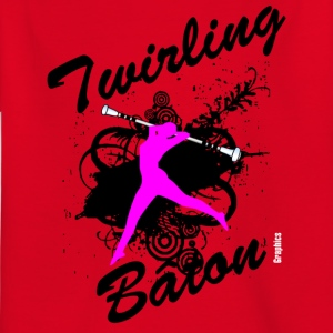 Twirling - Kinder T-Shirt