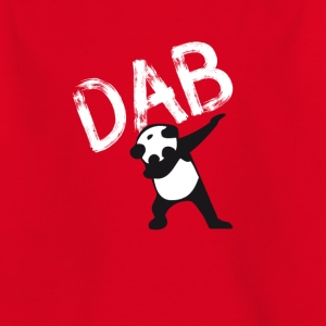dab Panda dabbing hiphop Football Dance LOL touchd - Kinder T-Shirt