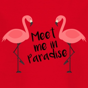 Meet me in Paradise - Kinder T-Shirt