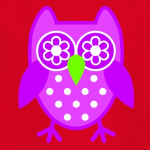 Purple Owl - Kids' T-Shirt