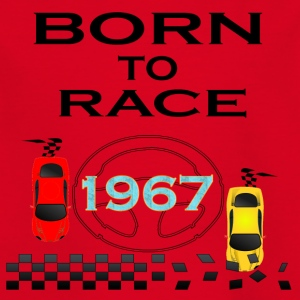 Born To Race Racing Race Drive 1967 - Kinderen T-shirt