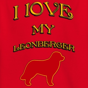 I LOVE MY DOG Leonberger - Kids' T-Shirt