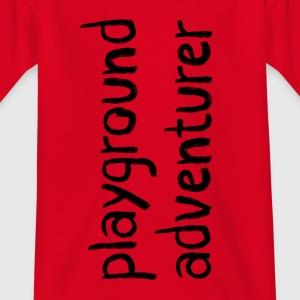 Playground Adventurer - Kinderen T-shirt