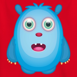 Emily - Blue Protector Monster - Kids' T-Shirt