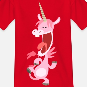 Licorne rose qui danse par Cheerful Madness!!