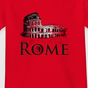Rome italy holiday Colosseum caesar antique travel gif - Kids' T-Shirt