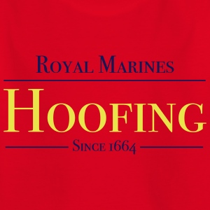 Royal Marines Hoofing Since 1664 - Kids' T-Shirt