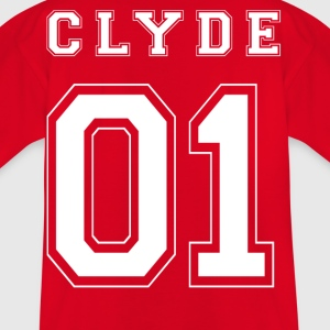 CLYDE 01 White Edition - T-shirt barn