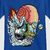 Mens' Shirt SpongeBob Snail - Teenage T-shirt