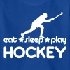 Eat Sleep Play Hockey - Teenage T-shirt