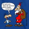 Cartoon: Weihnachtsmann / Nikolaus (PNG) - T-shirt Ado