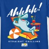 Animal Planet Ocean Humour Chilling Shark - Teenage T-shirt