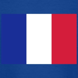 National Flag of France - T-shirt tonåring
